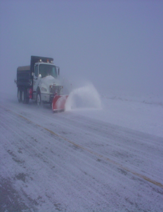 NAS Fallon Snow removal