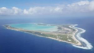 Wake Island Ariel