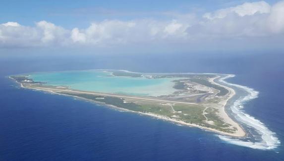Wake Island Aerial