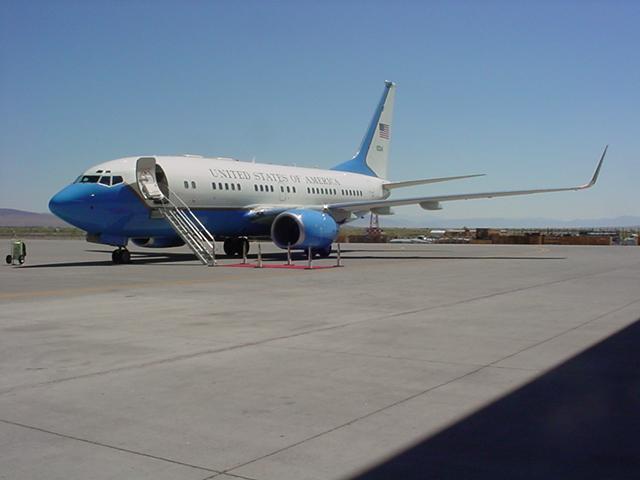 Air Force One at NAS Fallon